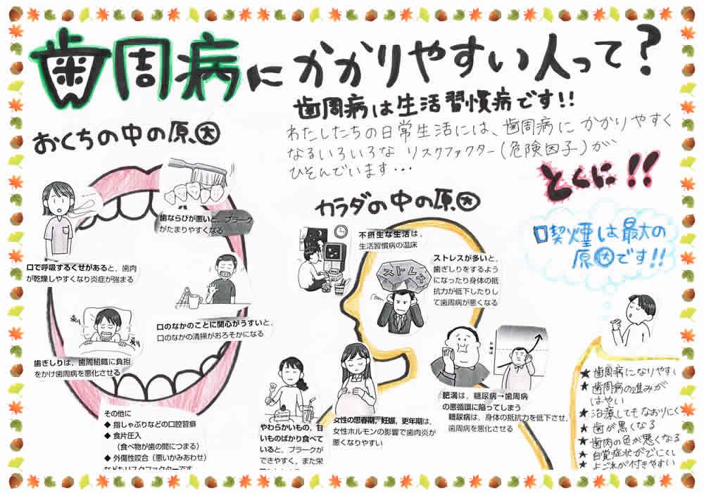 歯周病にかかりやすい人って?